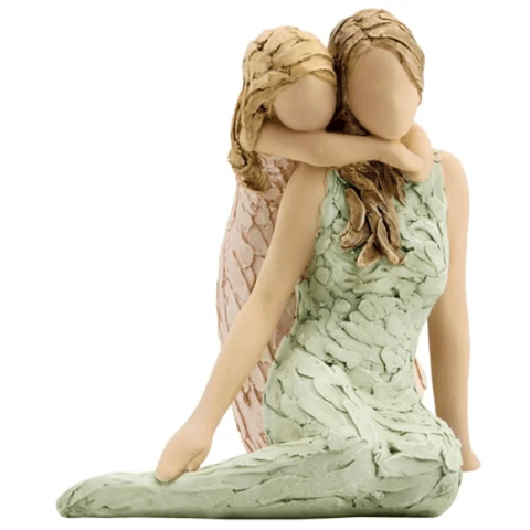 More Than Words Like Mother, Like Daughter Figurine